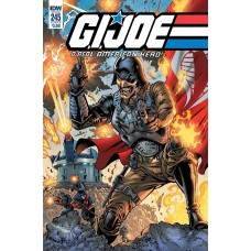 GI JOE A REAL AMERICAN HERO #245 CVR A GALLANT