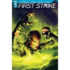 FIRST STRIKE #5 CVR C RONALD