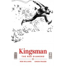 KINGSMAN RED DIAMOND #2 (OF 6) CVR B B&W ALBUQUERQUE (MR)