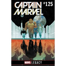 MIGHTY CAPTAIN MARVEL #125 LEG