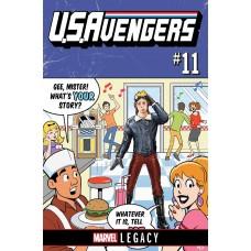 US AVENGERS #11 LEG
