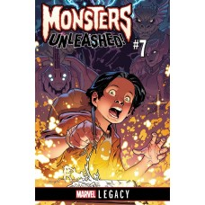 MONSTERS UNLEASHED #7 LEG