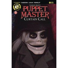 PUPPET MASTER CURTAIN CALL #1 COVER E PHOTO (MR)
