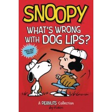 SNOOPY WHATS WRONG WITH DOG LIPS GN