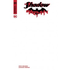 SHADOW BATMAN #1 BLANK AUTHENTIX ED