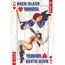 HACK SLASH VS VAMPIRELLA #1 (OF 5) CVR A FRISON