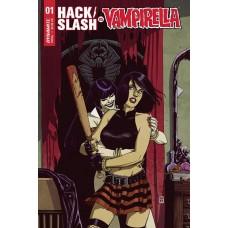 HACK SLASH VS VAMPIRELLA #1 (OF 5) CVR B SUDZUKA