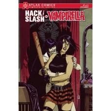 HACK SLASH VS VAMPIRELLA #1 (OF 5) ATLAS COMICS SEELY SGN ED