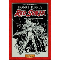 FRANK THORNE RED SONJA ART ED HC VOL 01