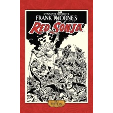 FRANK THORNE RED SONJA ART ED HC VOL 02