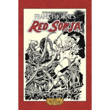 FRANK THORNE RED SONJA ART ED HC VOL 03