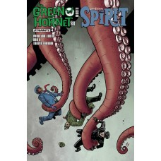 GREEN HORNET 66 MEETS SPIRIT #4 (OF 5) CVR A TEMPLETON