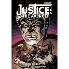 JUSTICE INC FACES OF JUSTICE #4 (OF 4)
