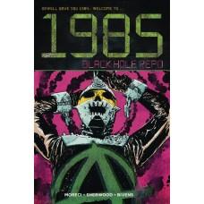 1985 BLACK HOLE REPO #1 CVR A BIVENS