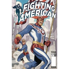 FIGHTING AMERICAN #1 CVR A DODSON