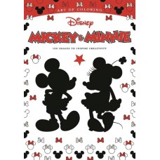 ART OF COLORING MICKEY MOUSE AND MINNIE MOUSE SC