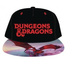 D&D LOGO TWILL SNAP BACK HAT W/ SUBLIMATED BILL