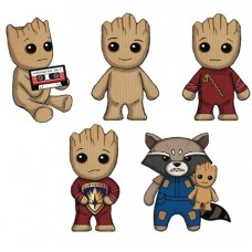 GOTG VOL 2 GROOT PLUSH CLIPS 24PC BMB DS