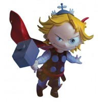 MARVEL ANIMATED STYLE THOR STATUE (Net)
