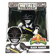 METALS MMPR BLACK RANGER 4IN DIE-CAST FIG (Net)