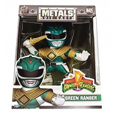 METALS MMPR GREEN RANGER 4IN DIE-CAST FIG (Net)
