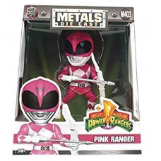 METALS MMPR PINK RANGER 4IN DIE-CAST FIG (Net)