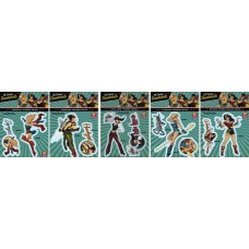 DC BOMBSHELLS PX DECAL PACK 1