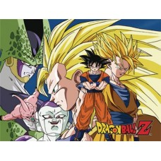 DBZ GOKU VS EVIL SUBLIMATION THROW BLANKET
