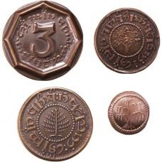 THE HOBBIT 4 COIN SET 1