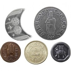 LORD OF THE RINGS MIDDLE EARTH 5 COIN SET 2