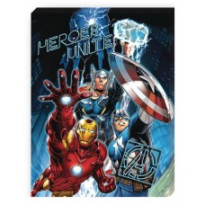 AVENGERS UNITE PORTRAIT CANVAS WITH LED LIGHTS