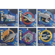 STAR TREK SHIPS 49PC ENAMEL PIN ASST