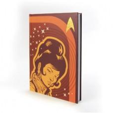 STAR TREK TOS UHURA HARD COVER JOURNAL