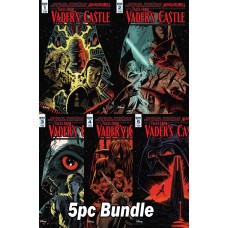 STAR WARS TALES FROM VADERS CASTLE #1 - #5 CVR A 5PC BUNDLE SET