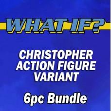 WHAT IF? NEW #1'S CHRISTOPHER AF VARIANT 6PC BUNDLE SET