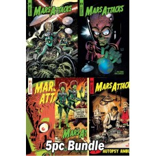 MARS ATTACKS #1 CVR A B C D E 5PC BUNDLE SET