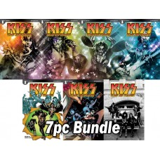 KISS BLOOD STARDUST #1 CVR A B C D E F G 7PC BUNDLE SET