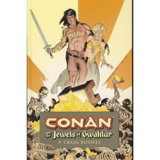 CONAN AND THE JEWELS OF GWAHLUR HC