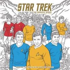 STAR TREK ORIGINAL SERIES ADULT COLORING BOOK TP VOL 02