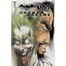 BATMAN THE MAXX ARKHAM DREAMS #2 (OF 5) CVR B KIETH