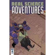 REAL SCIENCE ADVENTURES NICODEMUS JOB #4 CVR A MCCLAREN