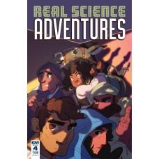 REAL SCIENCE ADVENTURES NICODEMUS JOB #4 CVR B FOLEY