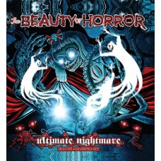 BEAUTY OF HORROR ULT NIGHTMARE DLX COLORING SET