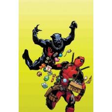 BLACK PANTHER VS DEADPOOL #1 (OF 5) HAMNER VARIANT