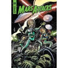 MARS ATTACKS #1 CVR A MANDRAKE