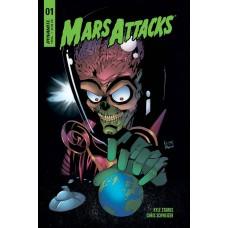 MARS ATTACKS #1 CVR B COLEMAN