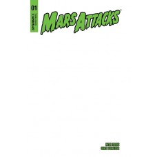 MARS ATTACKS #1 BLANK AUTHENTIX ED