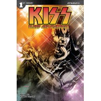 KISS BLOOD STARDUST #1 CVR A SAYGER DEMON
