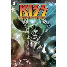 KISS BLOOD STARDUST #1 CVR C SAYGER CATMAN