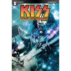KISS BLOOD STARDUST #1 CVR D SAYGER SPACEMAN